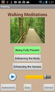 Walking Meditations - screenshot thumbnail