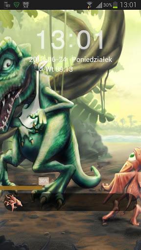 ロッカーテーマ恐竜GO
