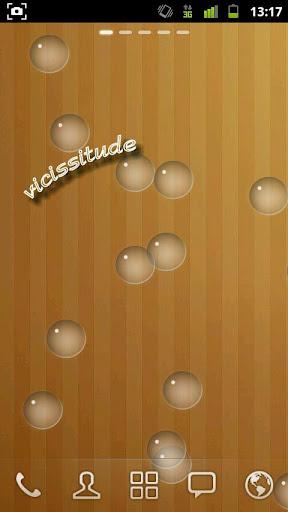 Wellwrite Bubble wallpaper