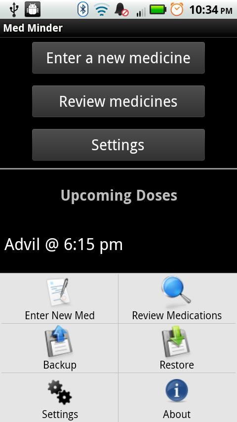 Med Minder - Pill Reminder- screenshot