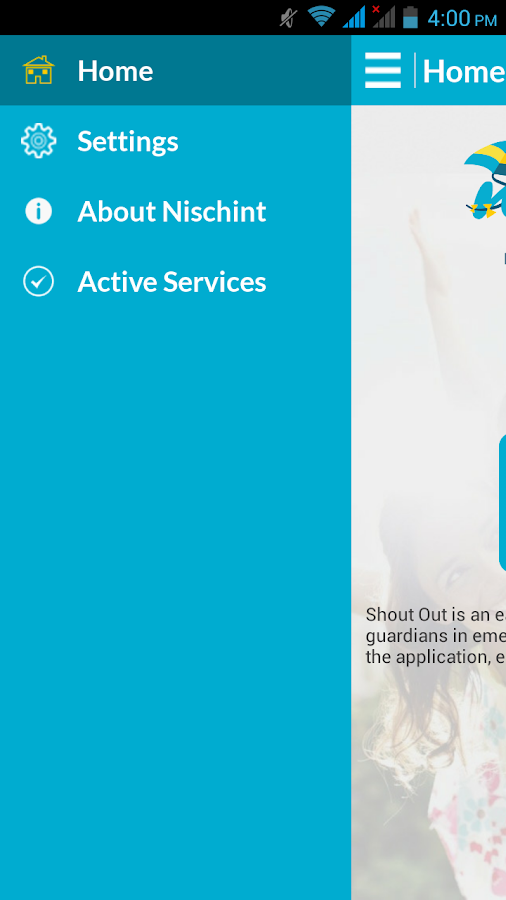 Nischint Parental Guidance App- screenshot
