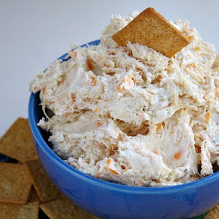 RANCH CHICKEN CHEESE DIP.
