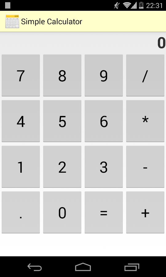 Simple Calculator Free- screenshot