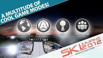 Screenshot of Ski Jumping 12 Free