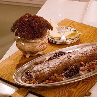 Julia and Jacques's Chocolate Roulade.