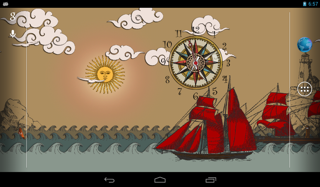 Paper Sea Live Wallpaper FREE Android Apps on Google Play
