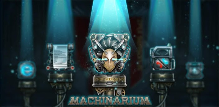 Machinarium GO Launcher Theme apk