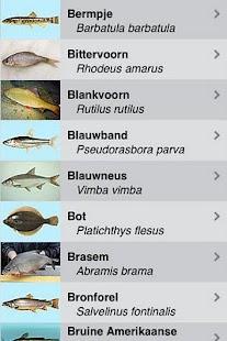 Zoetwatervissen van Nederland- screenshot thumbnail
