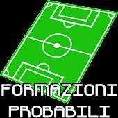 Formazioni Probabili Calcio A