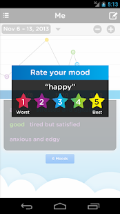 Mood Tracking Journal & Diary - screenshot thumbnail