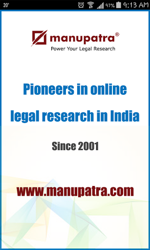 Manupatra Statute BA forSECTOR