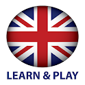 Learn and play. English free icon