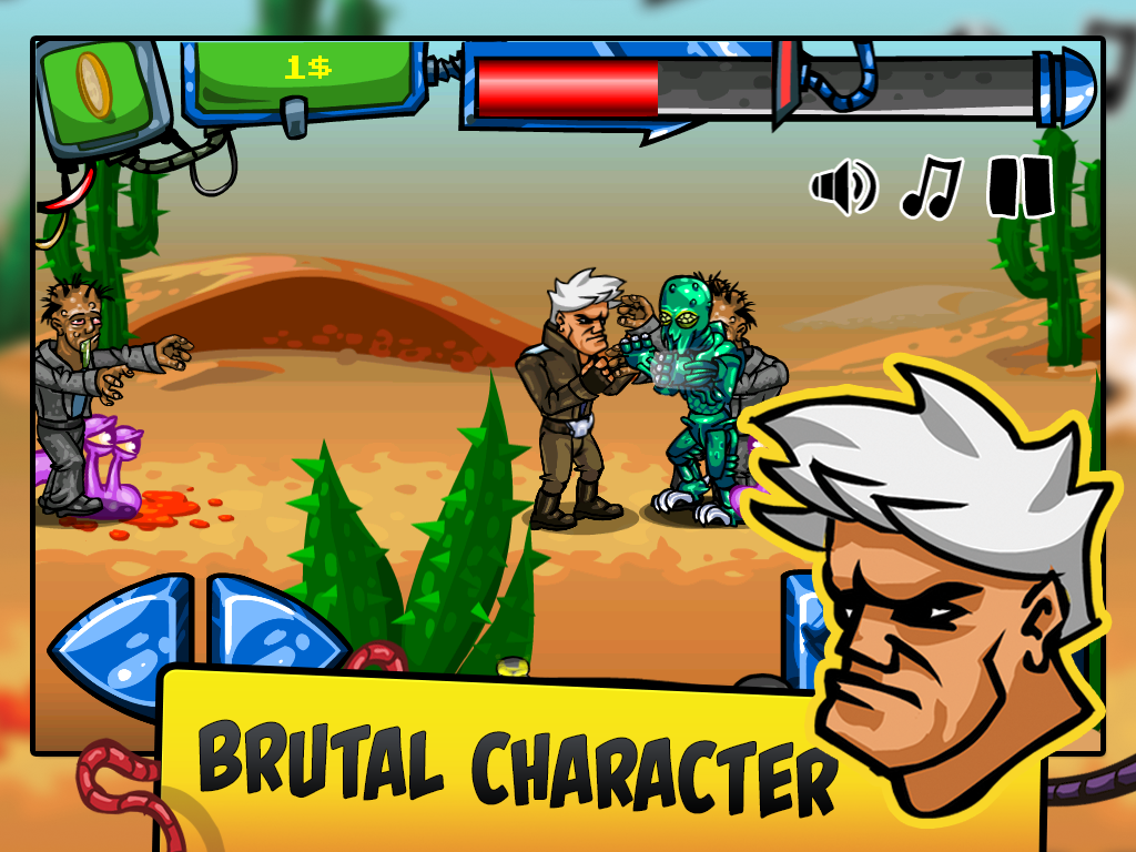 Biometal Blood Fighting Action - screenshot