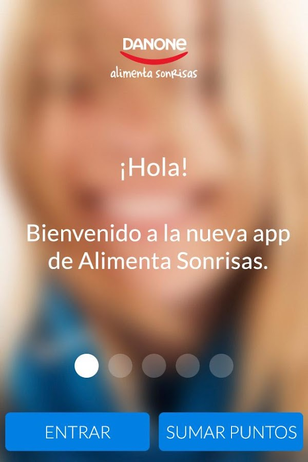 Alimenta Sonrisas de Danone - screenshot