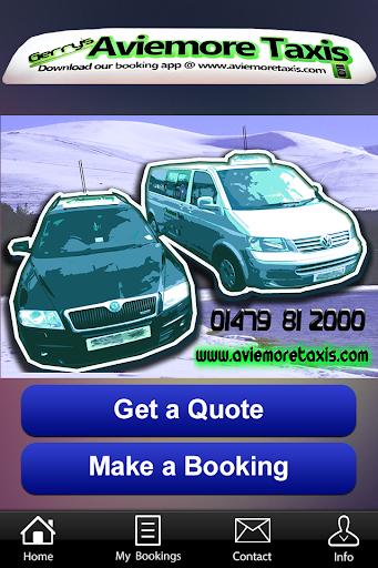 Gerry's Aviemore Taxi