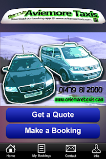 Gerry's Aviemore Taxi- screenshot thumbnail