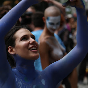 by VAM Photography - People Street & Candids ( art, body art, artist, places, nyc, women )