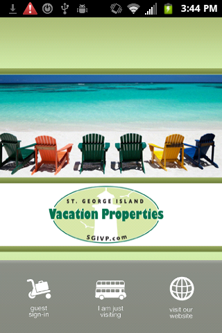 St George Island Vacation Prop