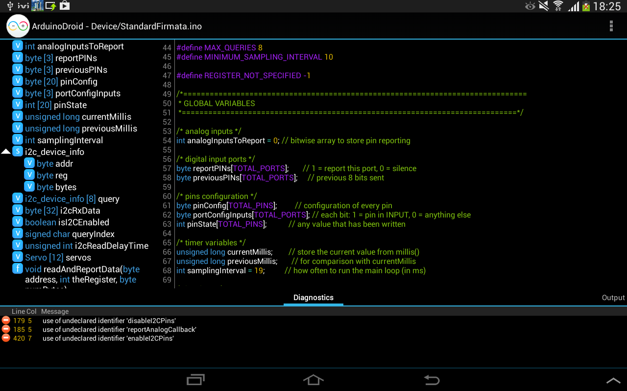 Arduinodroid Arduino Ide Android Apps On Google Play