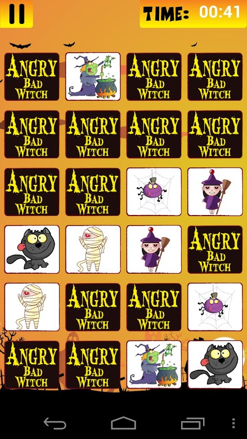 Angry Bad Witch -Kids Fun Game - screenshot