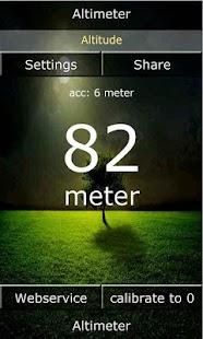 Android Altimeter - screenshot thumbnail