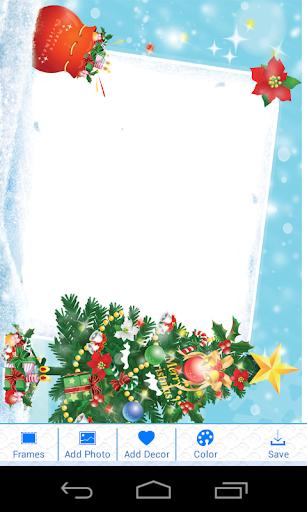 聖誕照片框架臨