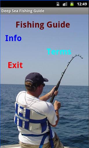 deep sea fishing essays