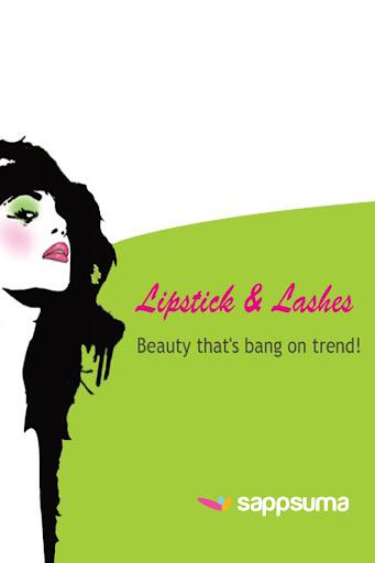 【免費生活App】Lipstick and Lashes-APP點子