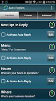 Screenshot of BizTexter Smart Text Marketing