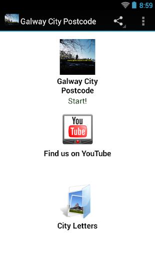 Galway City Postcode