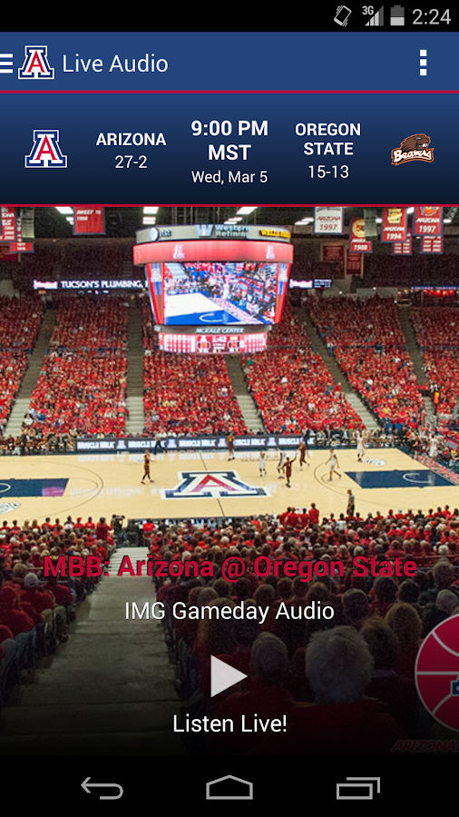 Arizona Gameday - screenshot
