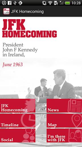 JFK Homecoming