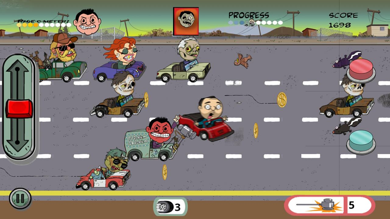 Left Lane Looey Road Rage Race - screenshot