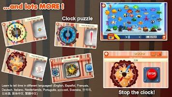 Screenshot of Interactive Telling Time Free