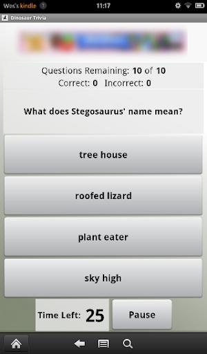 【免費解謎App】Dinosaur Trivia Quiz-APP點子