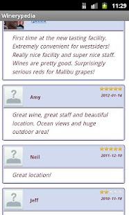 Winerypedia Winery Locator- screenshot thumbnail