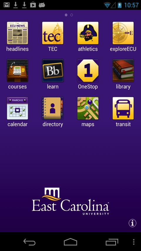 ECU Mobile - screenshot