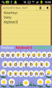KlearKeys Daisy Keyboard screenshot 3