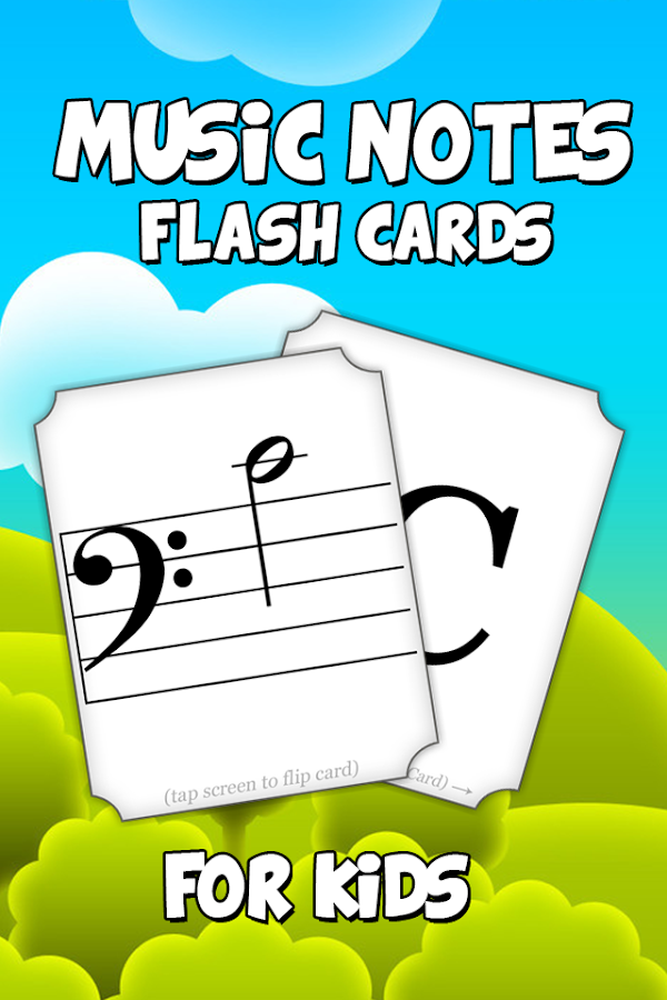 Kids Music Note Flash Cards - Android Apps on Google Play
