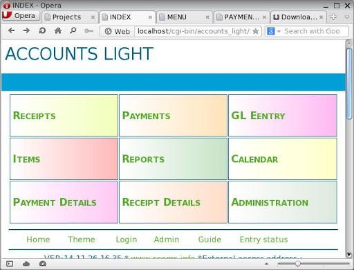 Accounts Light