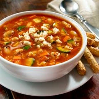 Mexican A-B-C Minestrone.