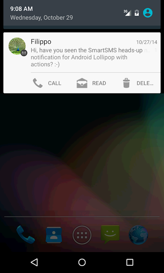SmartSMS - Free - screenshot