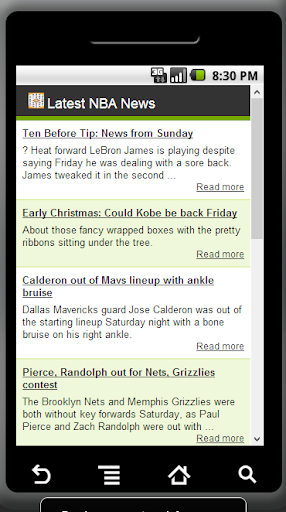 Latest NBA News