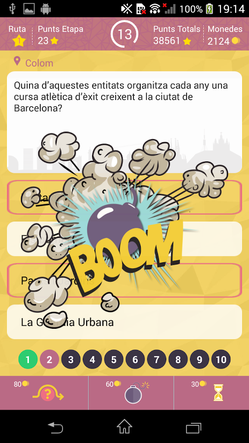 BCNQuiz- screenshot