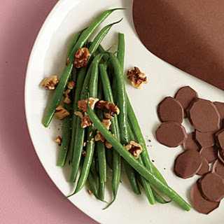 Green Beans with Walnuts.
