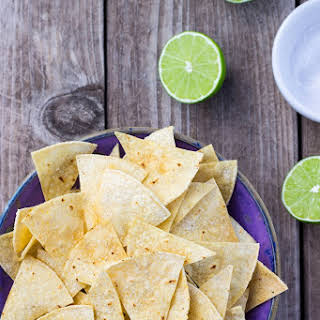 Hint of Lime Baked Tortilla Chips.