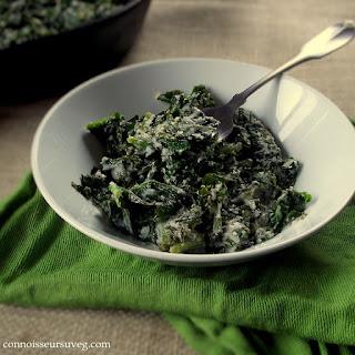 Vegan Creamed Kale