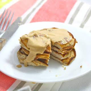 Coconut Flour Pancakes (Gluten Free/Grain Free/Low Carb/Low Calorie/High Protein).