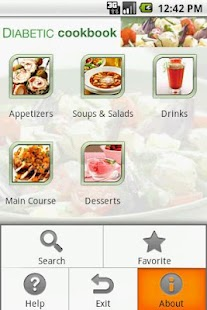 Diabetic Cookbook- screenshot thumbnail