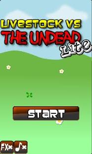Livestock Vs The Undead Lite- screenshot thumbnail